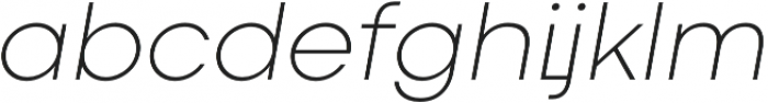 Codec Cold Logo Light Italic otf (300) Font LOWERCASE
