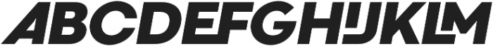 Codec Cold Logo otf (700) Font UPPERCASE