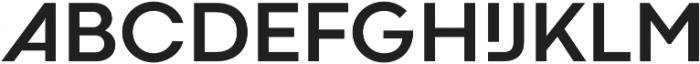 Codec Cold otf (700) Font UPPERCASE