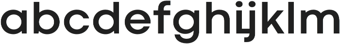 Codec Cold otf (700) Font LOWERCASE