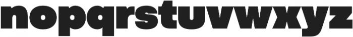 Codec Pro UltraBlack otf (900) Font LOWERCASE
