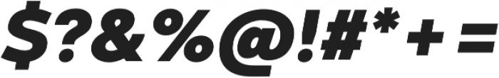 Codec Warm Heavy Italic otf (800) Font OTHER CHARS