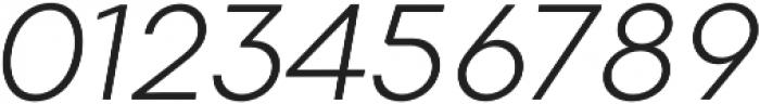 Codec Warm Logo Light Italic otf (300) Font OTHER CHARS