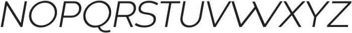 Codec Warm Logo Light Italic otf (300) Font UPPERCASE