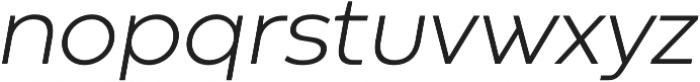 Codec Warm Logo Light Italic otf (300) Font LOWERCASE