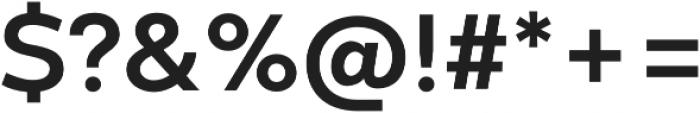 Codec Warm otf (700) Font OTHER CHARS