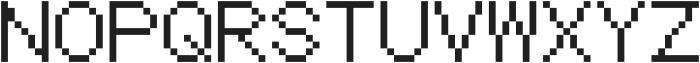 Coder's Crux 2 ttf (400) Font UPPERCASE