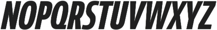 Coegit Compact Bold Ital otf (700) Font UPPERCASE