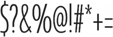 Coegit Compact Light otf (300) Font OTHER CHARS