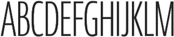 Coegit Compact Light otf (300) Font UPPERCASE