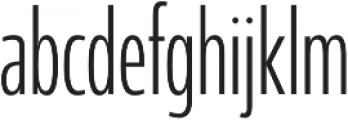 Coegit Compact Light otf (300) Font LOWERCASE
