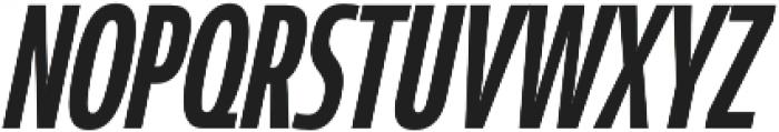 Coegit Compressed Medium Ital otf (500) Font UPPERCASE