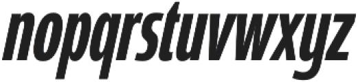 Coegit Compressed Medium Ital otf (500) Font LOWERCASE