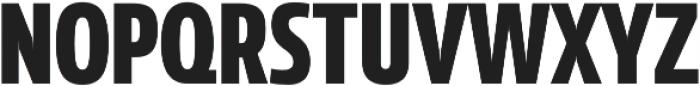 Coegit Condensed Bold otf (700) Font UPPERCASE