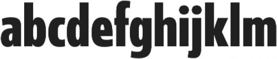 Coegit Condensed Bold otf (700) Font LOWERCASE