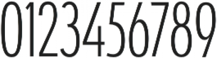 Coegit Condensed Light otf (300) Font OTHER CHARS