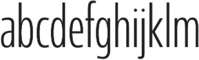 Coegit Condensed Light otf (300) Font LOWERCASE