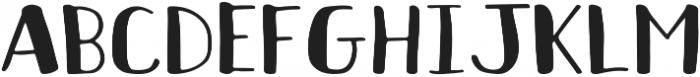 Coffee Date Regular ttf (400) Font UPPERCASE