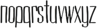 Cogswell Condensed Light otf (300) Font LOWERCASE