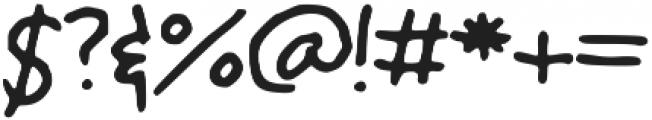 Cola_Script ttf (400) Font OTHER CHARS