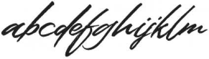 Colatin otf (400) Font LOWERCASE