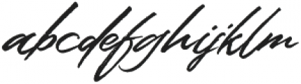 Colatin ttf (400) Font LOWERCASE