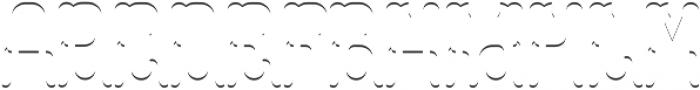 Colchester LightFX otf (300) Font UPPERCASE