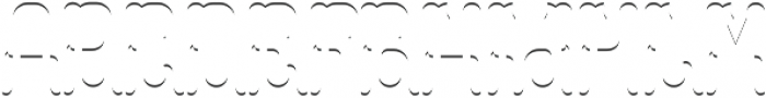Colchester LightFX otf (300) Font LOWERCASE