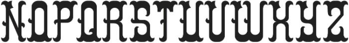 Colchester Regular otf (400) Font UPPERCASE