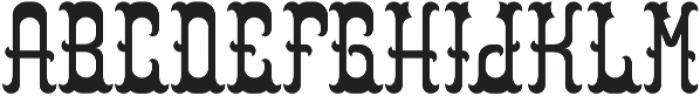 Colchester Regular otf (400) Font LOWERCASE