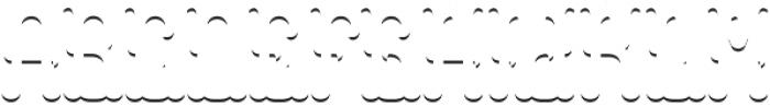 Colchester ShadowFX otf (400) Font UPPERCASE