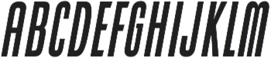 Cold Cuts Bold Italic otf (700) Font UPPERCASE