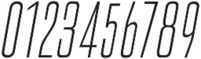 Cold Cuts Light Italic otf (300) Font OTHER CHARS