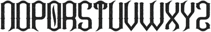 Coldwater Aged otf (400) Font UPPERCASE