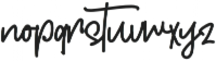 Colintha Script otf (400) Font LOWERCASE
