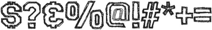 College Dropout Sophomore Regular otf (400) Font OTHER CHARS