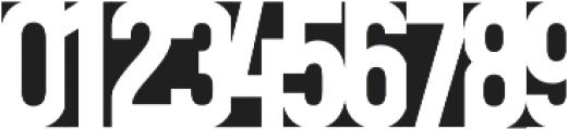 ColorPaperBlack Regular otf (900) Font OTHER CHARS