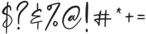 Colossalostbeginswash otf (400) Font OTHER CHARS
