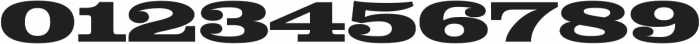 Colt Black otf (900) Font OTHER CHARS