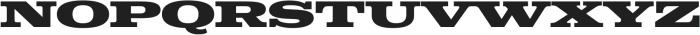 Colt Black otf (900) Font UPPERCASE