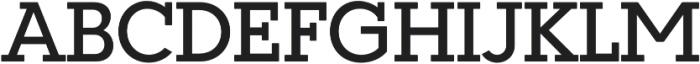 Coltan Gea Medium otf (500) Font UPPERCASE