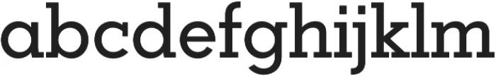 Coltan Gea Medium otf (500) Font LOWERCASE