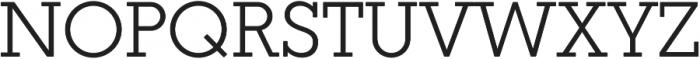 Coltan Gea otf (400) Font UPPERCASE