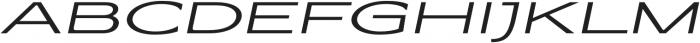 Coltrane Light Italic otf (300) Font UPPERCASE