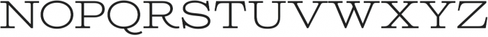 Columbia Titling Light otf (300) Font UPPERCASE