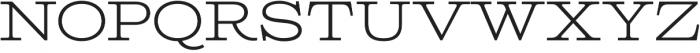 Columbia Titling Light otf (300) Font LOWERCASE