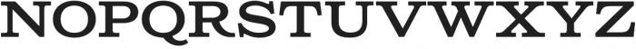Columbia Titling Medium otf (500) Font UPPERCASE