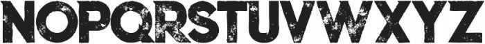 Columbus Grunge otf (400) Font LOWERCASE