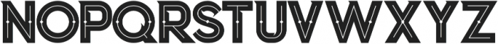 Columbus Inline otf (400) Font UPPERCASE