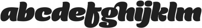 Comalle Regular otf (400) Font LOWERCASE